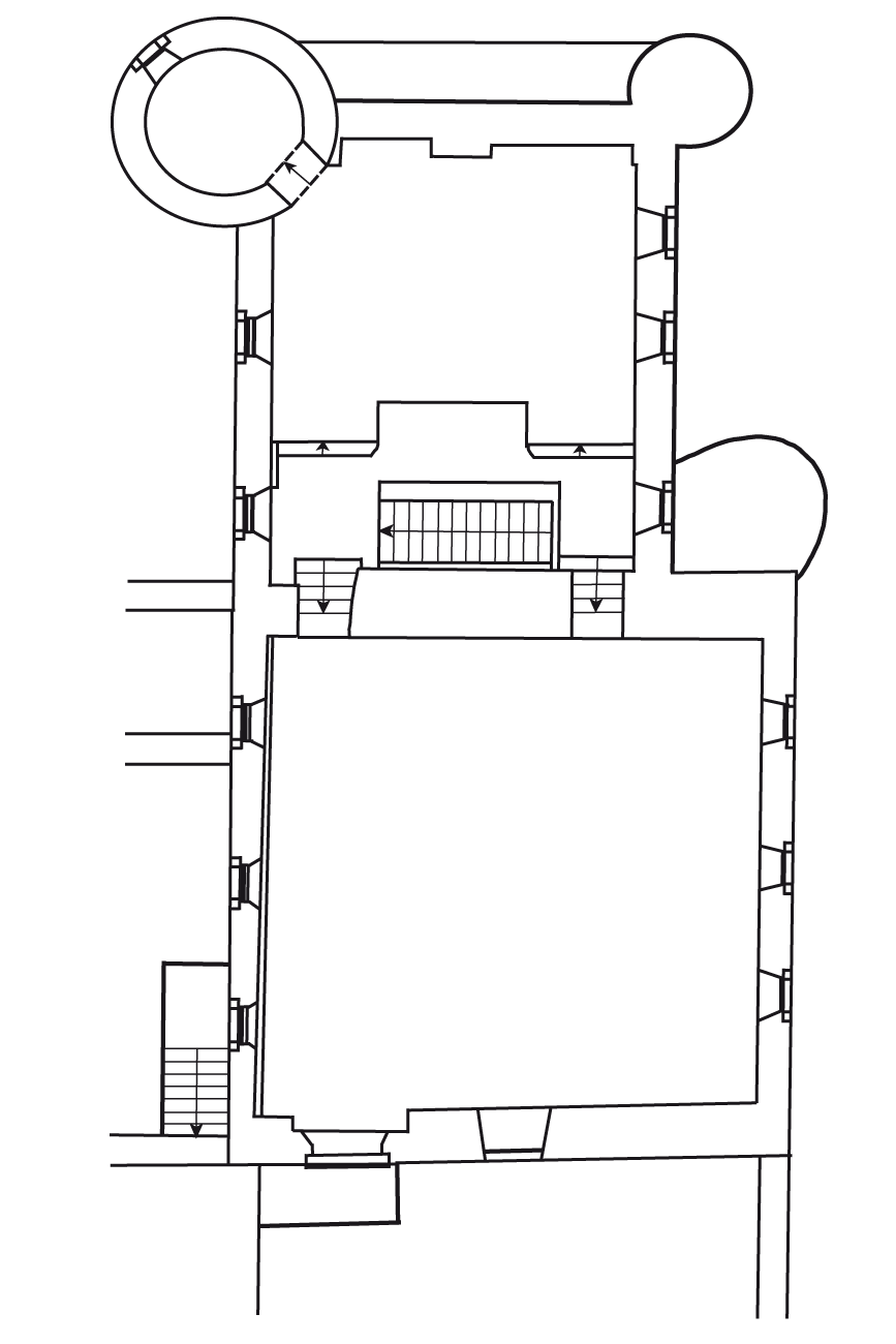 zweites Obergeschoss